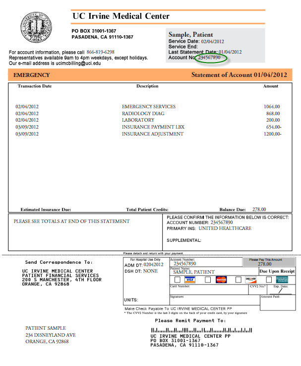 Online Bill Payment | UC Irvine Health | Orange County, CA